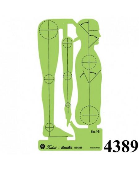 Gabarito Desetec 4389 Desenho Figura Humana
