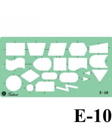 Gabarito Eletricidade E-10 Fluxogramas Trident