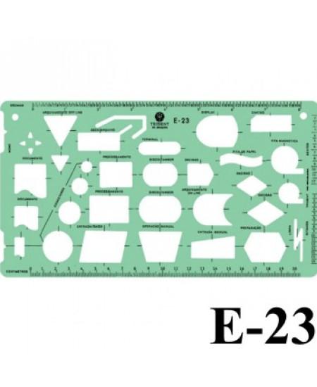 Gabarito Eletricidade E-23 Fluxogramas Trident
