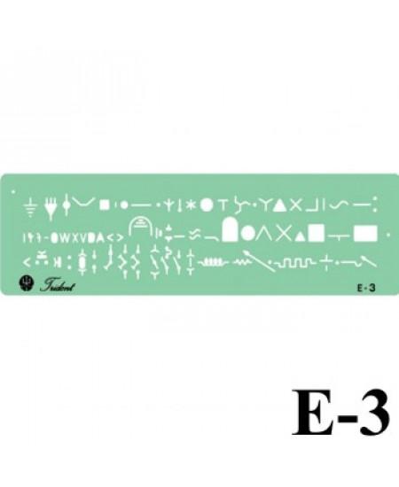 Gabarito Eletricidade E-03 Eletro Eletrônica Trident