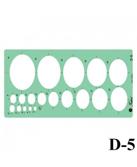 Gabarito Desenho D-05 Elipse Trident