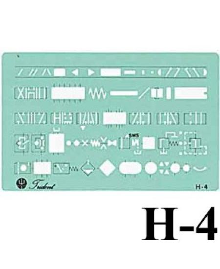 Gabarito Hidráulica H-04 Hidráulica Trident
