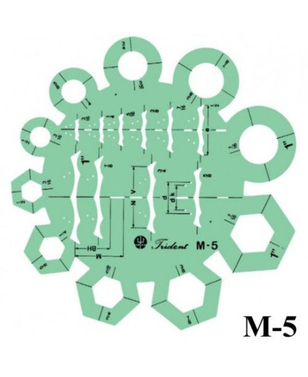 Gabarito Mecânica M-05 Montagens Industriais Trident