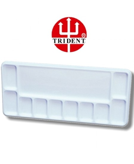 Godê Plástico Retangular 11 Cavidades Trident 12455