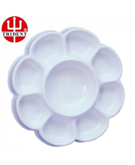 Godê Plástico Redondo 09 Cavidades Trident 12460