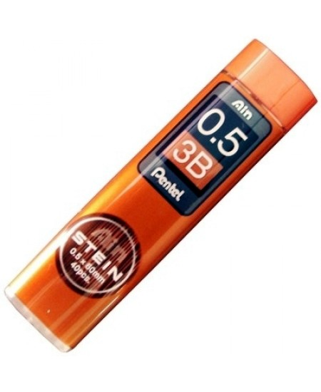 Mina Grafite Pentel AIN STEIN 0.5mm 3B