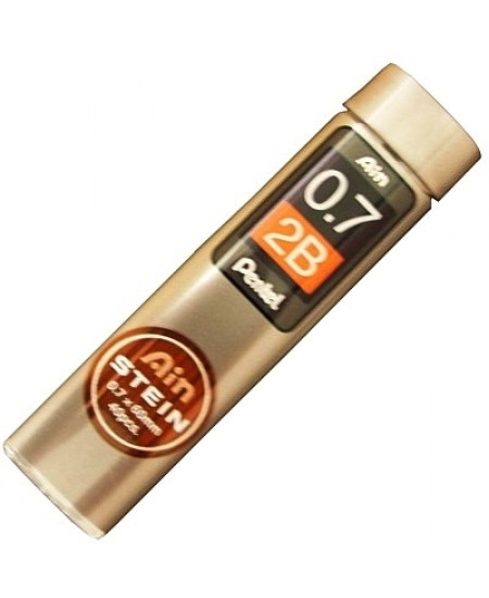 Mina Grafite Pentel AIN STEIN 0.7mm 2B
