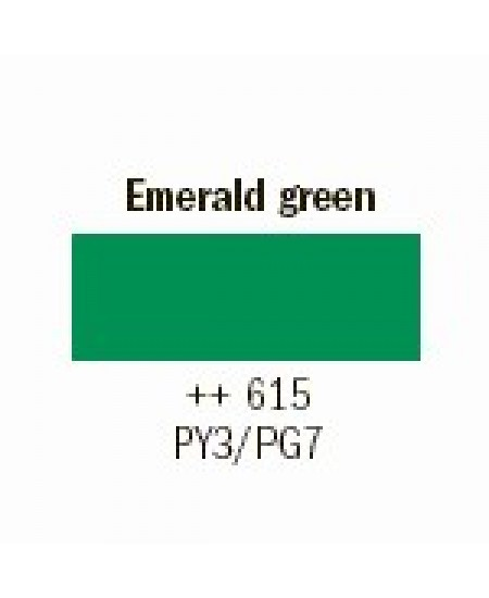 Tinta Guache Para Caligrafia Talens 16ml 615 Emerald Green