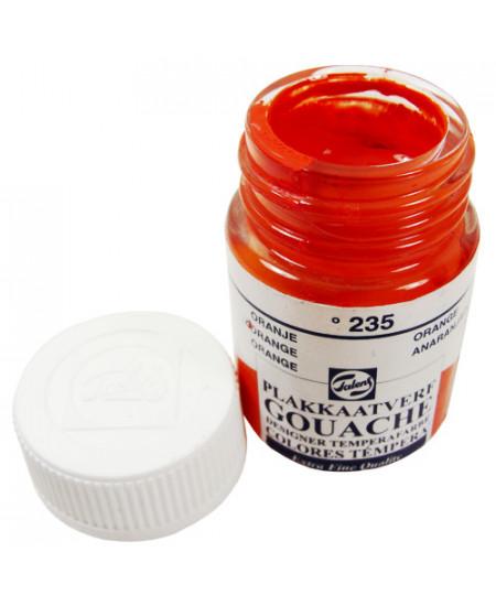Tinta Guache Para Caligrafia Talens 16ml 235 Orange