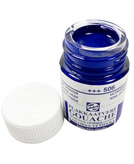 Tinta Guache Para Caligrafia Talens 16ml 506 Ultramarine Deep