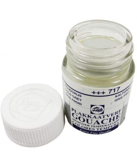 Tinta Guache Para Caligrafia Talens 16ml 717 Cold Grey