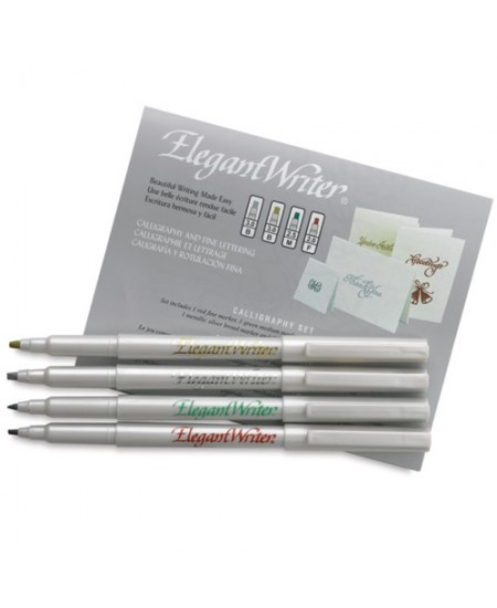 Kit de Caneta Para Caligrafia Speedball Elegant Writer 2886