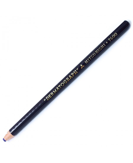 Lápis Dermatográfico  Azul MitsuBishi 7600