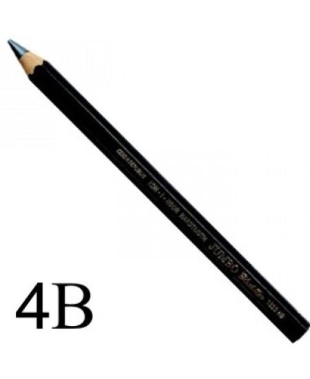 Lápis Jumbo Black Star Koh-I-Noor 4B 1820