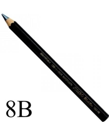 Lápis Jumbo Black Star Koh-I-Noor 8B 1820