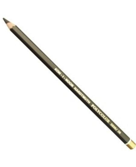 Lápis de Cor Polycolor 3800 36 Black