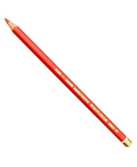 Lápis de Cor Polycolor 3800 47 Scarlet Red