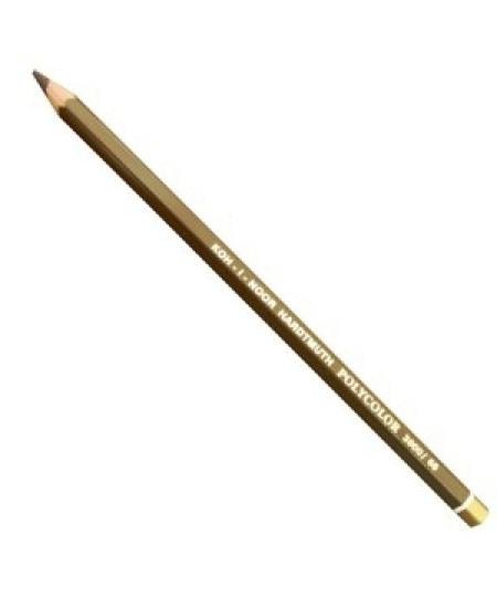 Lápis de Cor Polycolor 3800 68 Burnt Umbra