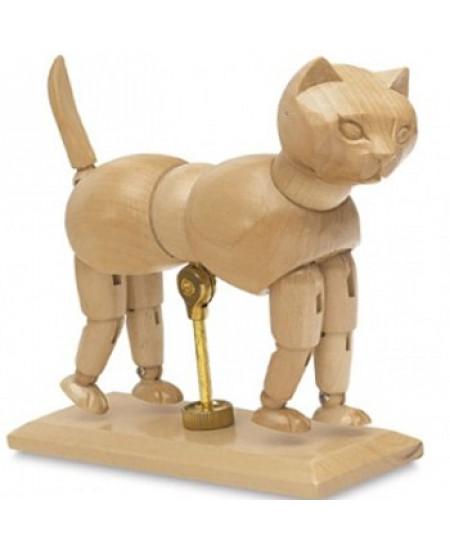 Gato Articulado de Madeira SFM057