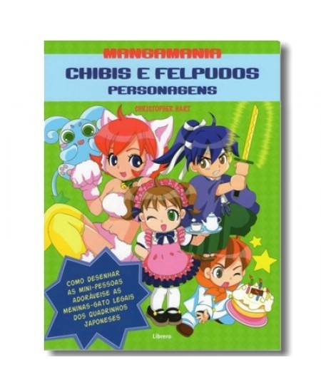 MangaMania Chibis e Felpudos Personagens - Christopher Hart