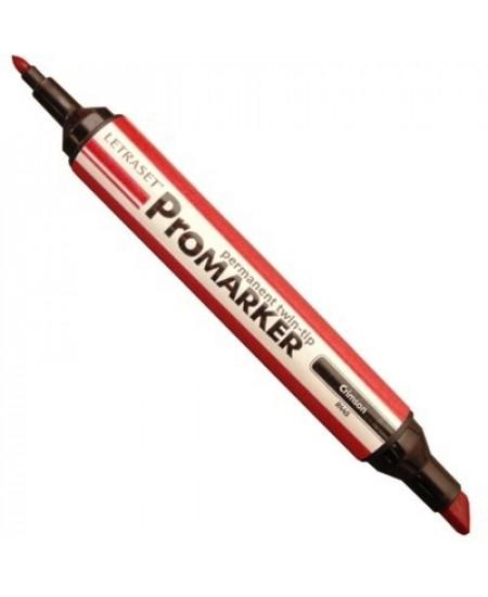 Marcador Promarker LetraSet 118 Crimson