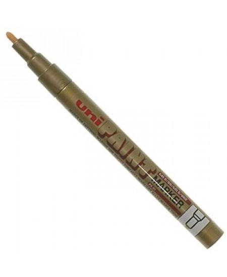 Caneta Uni Paint Marker PX-21 Ouro