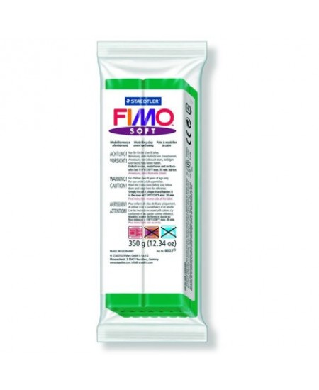 Massa Plástica Fimo Soft 53 Verde Tropical 350g