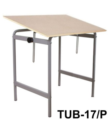 Mesa Para Desenho Tub 17/P 80x60cm PA-80 Trident