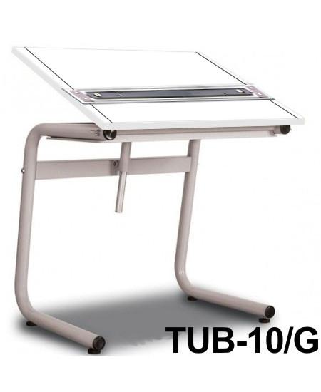 Mesa Para Desenho com Régua Paralela Tub 10/G BP-100 Trident