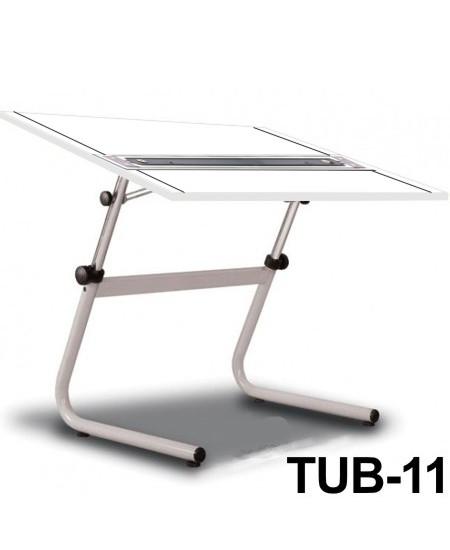 Mesa Para Desenho com Régua Paralela Tub 11 BP-120 Trident