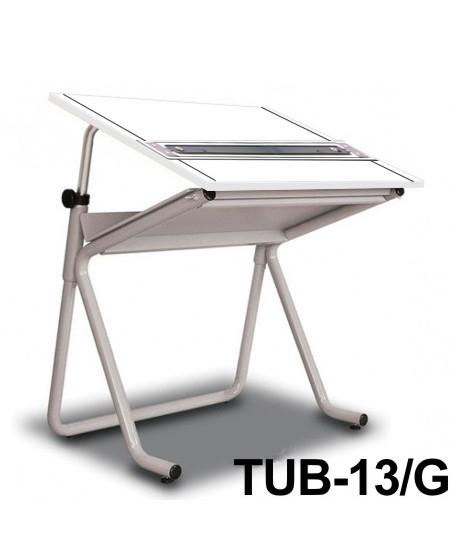 Mesa Para Desenho com Régua Paralela Tub 13/G BP-100 Trident