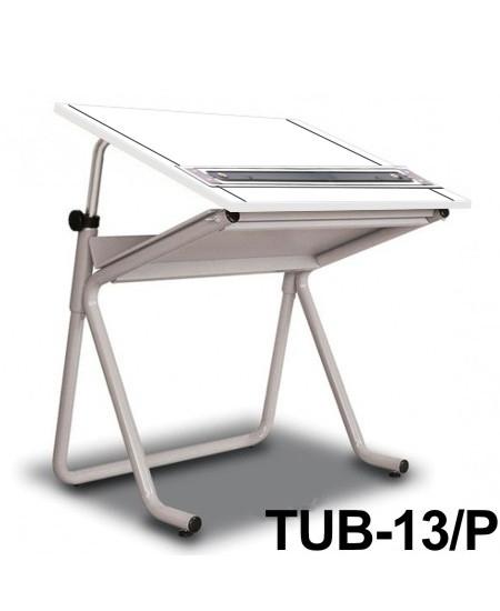 Mesa Para Desenho com Régua Paralela Tub 13/ P BP-80 Trident