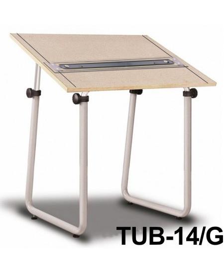 Mesa Para Desenho com Régua Paralela Tub 14/G PA-100 Trident
