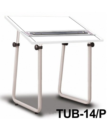 Mesa Para Desenho com Régua Paralela Tub 14/ P BP-80 Trident