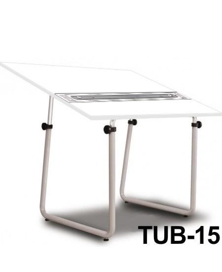 Mesa Para Desenho com Régua Paralela Tub 15 BP-120 Trident