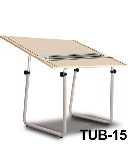 Mesa Para Desenho com Régua Paralela Tub 15 PA-120 Trident