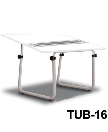 Mesa Para Desenho com Régua Paralela Tub 16 BP-150 Trident