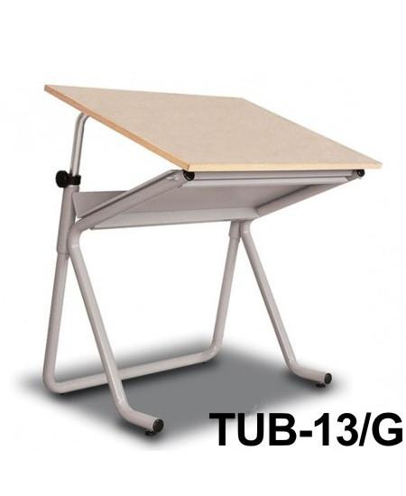 Mesa Para Desenho Tub 13/G 100x80cm PA-100 Trident