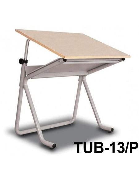 Mesa Para Desenho Tub 13/ P 80x60cm PA-80 Trident