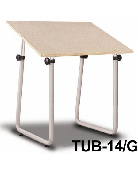 Mesa Para Desenho Tub 14/G 100x80cm PA-100 Trident