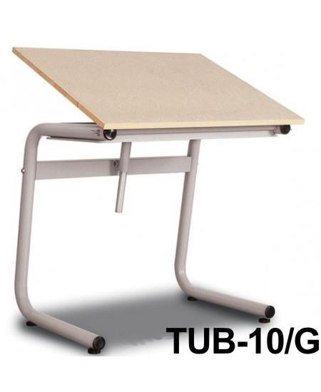 Mesa Para Desenho Tub 10/G 100x80cm PA-100 Trident