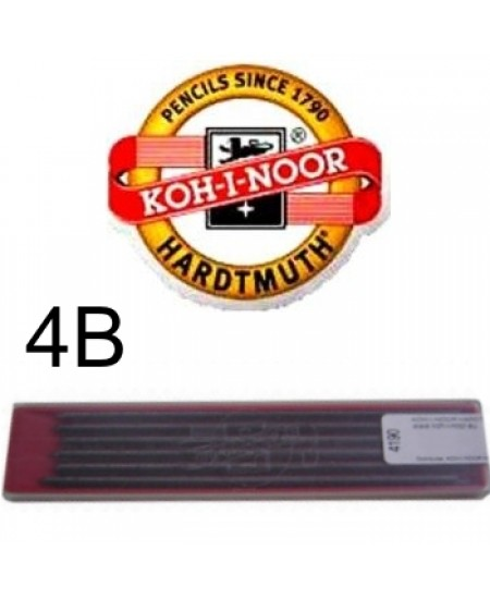 Mina Grafite Koh-I-Noor 2.0mm 4B 4190