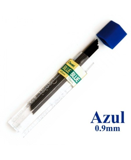 Mina Grafite Pentel 0.9mm  Azul
