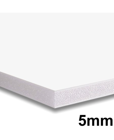 Placa Foam Board  80x100cm Branco 5mm