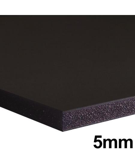 Placa FoamBoard 80x100cm Preto 5mm