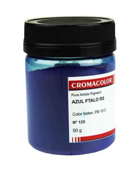 Pigmento Artístico Puro 125 Azul Ftalo RS Cromacolor 50g
