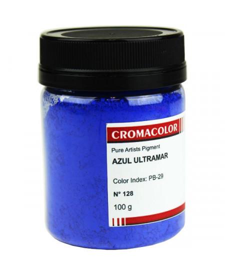 Pigmento Artístico Puro 128 Azul Ultramar Cromacolor 100g