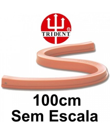 Régua Flexível sem Escala 100cm Trident 12100