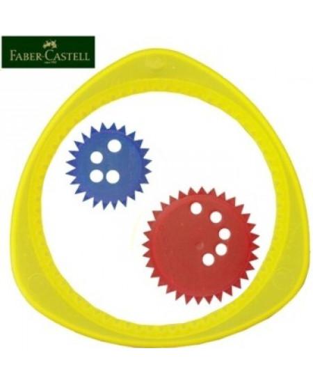 Régua Mágica Espirógrafo Faber-Castell