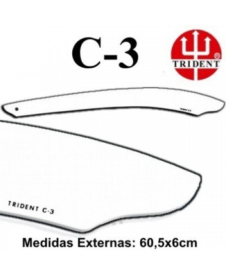 Régua de Corte e Costura Trident C-03